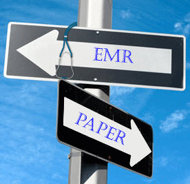 emr paper Electronic paper and e-paper are display devices that mimic the appearance of ordinary ink on paper unlike conventional backlit flat panel displays that emit light.